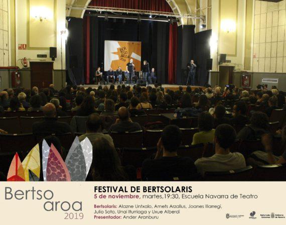 'Bertsoaroa 2019' presenta 'Gorria', espectáculo de bertsos y flamenco, además del estreno de una obra para público infantil, sesiones de bertsos y una conferencia