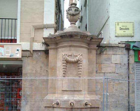 El Ayuntamiento de Pamplona culmina la restauración en cuatro de las cinco fuentes monumentales que alberga el Casco Antiguo